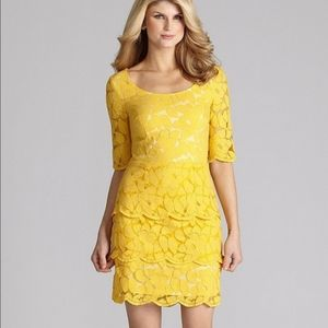 Antonio Melani Marigold Lace Dress